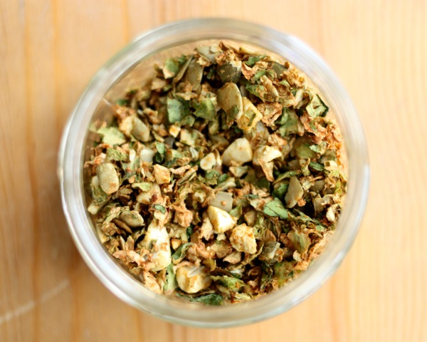 Spicy Brussels Sprout & Pumpkin Seed Salad Topper   The Full Helping
