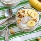 Cashew Banana Yogurt // Choosing Raw