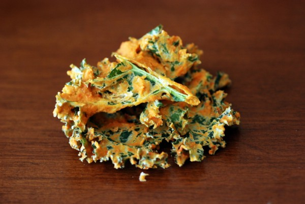 janet cheesy kale chips