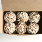 Cashew, Mesquite and Coconut Truffles
