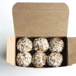 mesquite, cashew, and coconut truffles // choosing raw