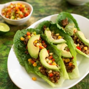 Heat Free Lentil and Walnut Tacos from the CR Cookbook // Choosing Raw