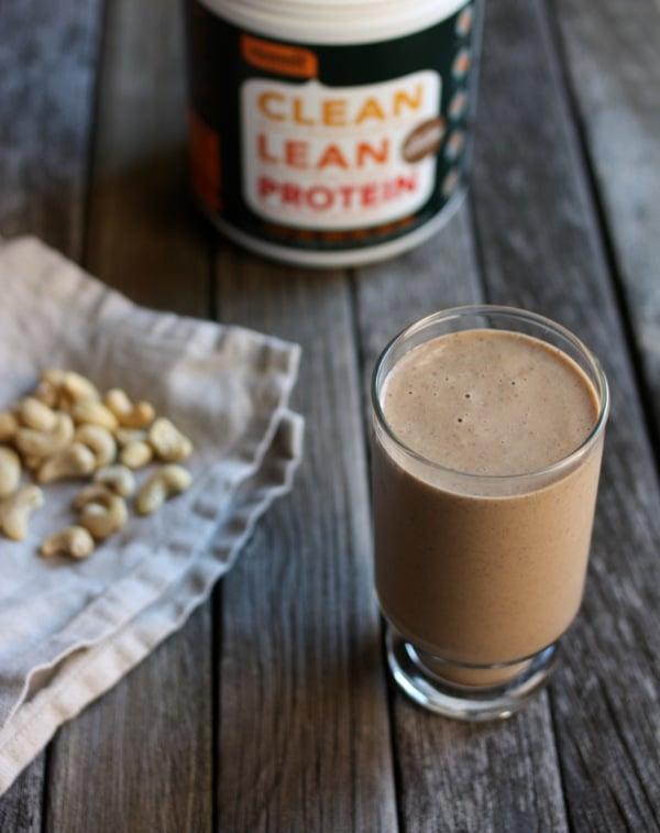 Raw Cappucino Milkshake