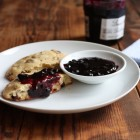 Gluten free cranberry orange scones