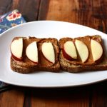 Toast of the Month: Walnut Cheddar and Apple Slices