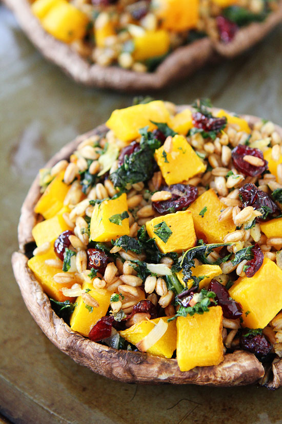 Stuffed-Portobello-Mushrooms-with-Butternut-Squash-and-Kale-6