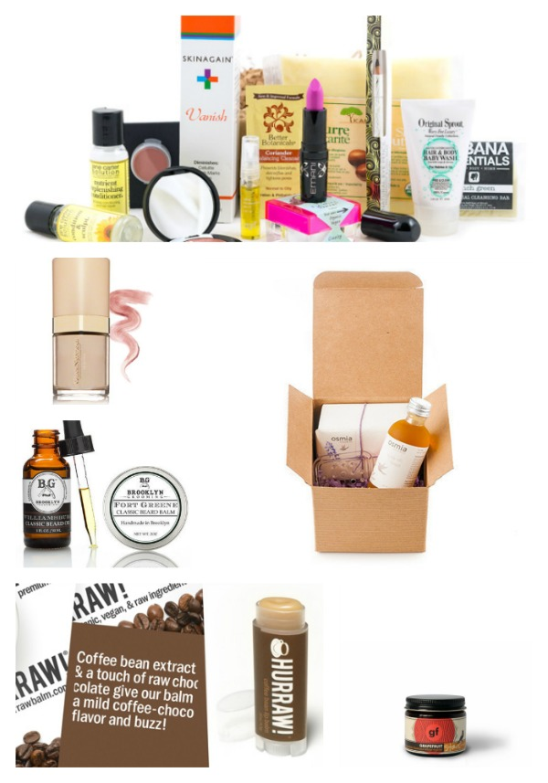 beauty and skincare collage