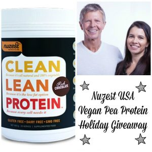 Nuzest Pea Protein Holiday Giveaway (and Interview)