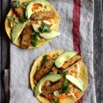 Hurry Up Vegan: Tempeh Tortillas with Napa Cabbage Citrus Slaw