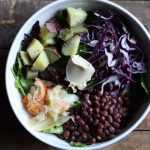 Aduki Bean, Japanese Yam, and Cabbage Bowl (and lunch bowl tutorial!)