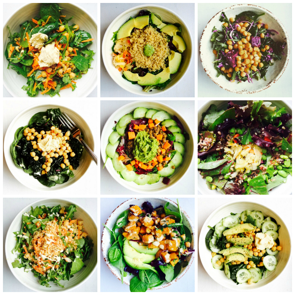 Lunch bowl roundup // Choosing Raw