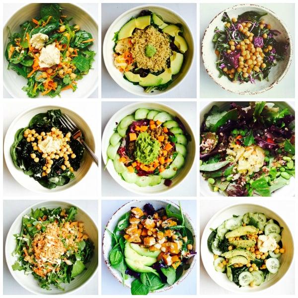 Lunch bowl roundup // Choosing Raw