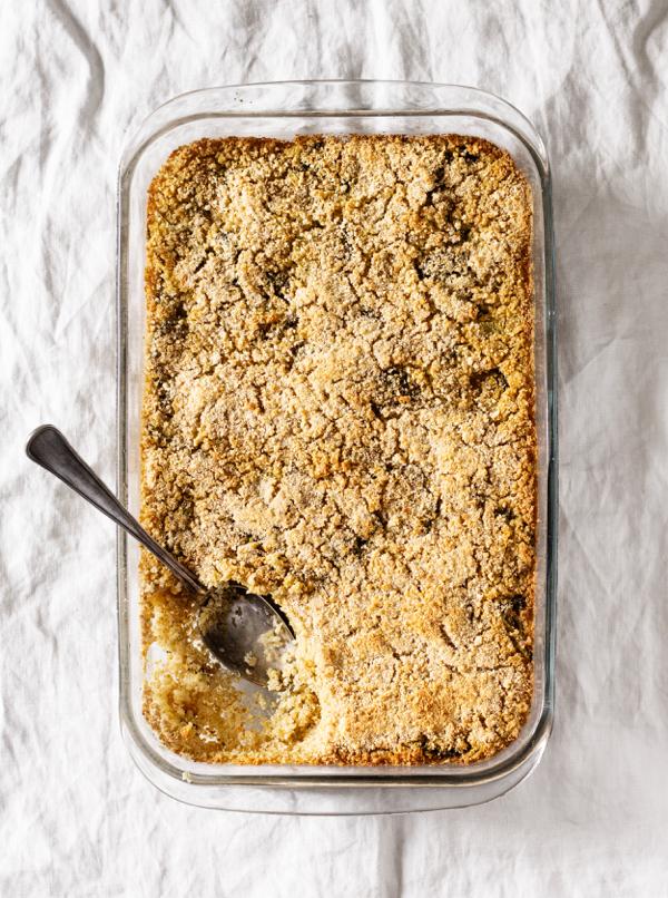 Cheesy Vegan Quinoa and Broccoli Bake | The Full Helping