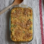 Cheesy Vegan Quinoa Bake