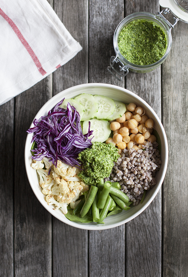 Big green bowl with chimicurri 2