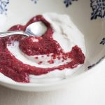 Coconut Yogurt and Berry Chia Pudding Swirl