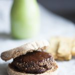 Lentil Tamarind Barbecue Burgers with Chickpea Fries for The International Year of Pulses!