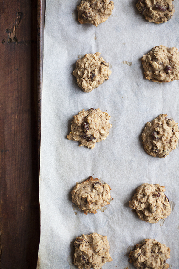 ... it to a cookie and what better cookie than my favorite oatmeal raisin