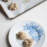 Oatmeal Raisin Cardamom Cookies (gluten free)