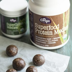 Mocha Pecan Energy Balls and Oriya Organics Giveaway