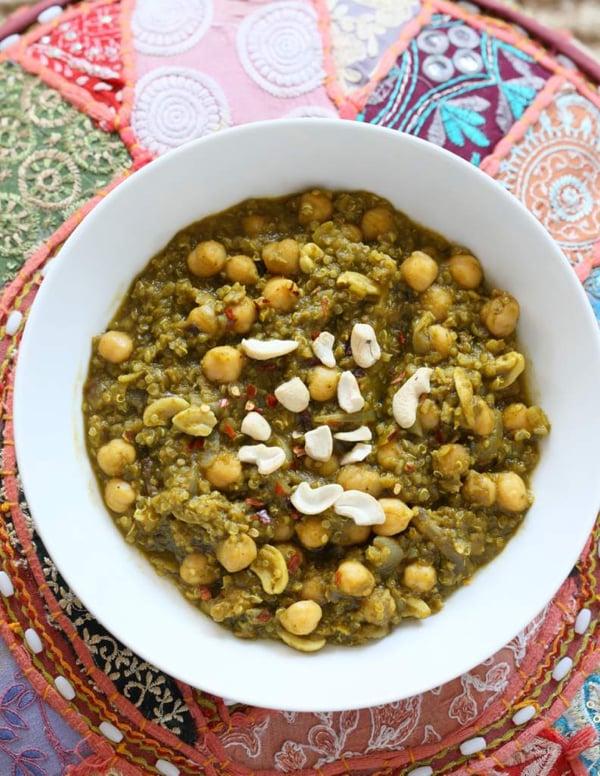 Ch 6 -Chickpea Spinach Stew