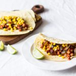 Barbecue Zucchini and Chickpea Tacos