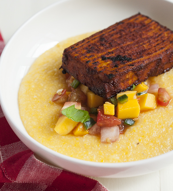 ... Barbecue Tofu and Mango and Heirloom Tomato Salsa – The Full Helping