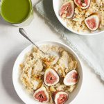 Maple Vanilla Quinoa Porridge with Fresh Figs