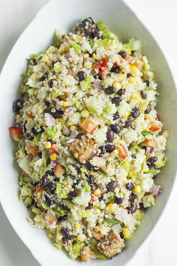 ... you have in the fridge. Dinner salads are built for personalization