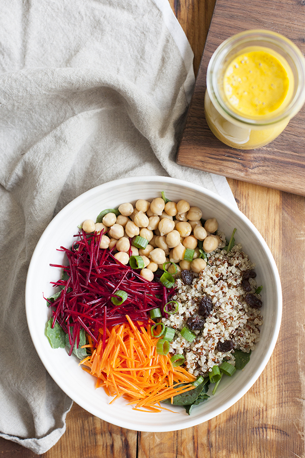 Totally addictive creamy cashew carrot dressing
