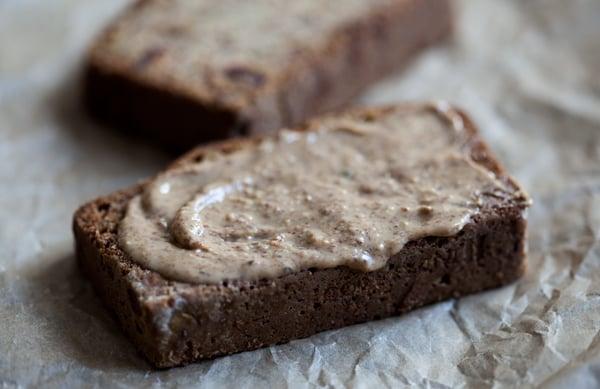 Gluten Free, Vegan Zucchini Date Bread