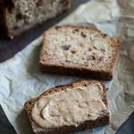 Gluten Free, Vegan Zucchini Date Bread
