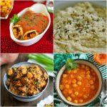 Menu Plan Monday: Enchiladas, Chana Masala, Hemp Hummus & More