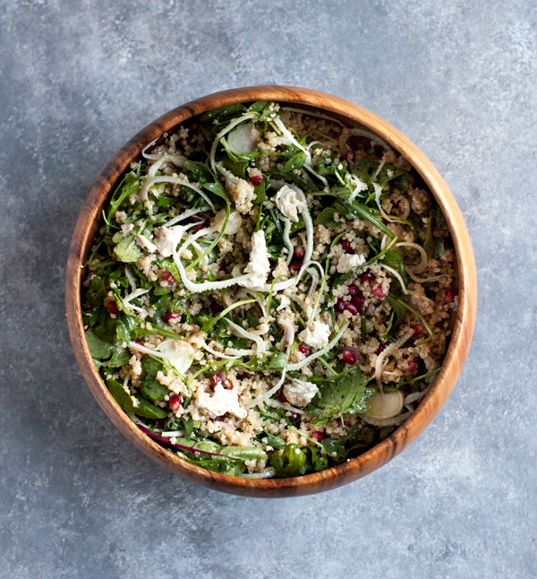 Fennel-and-ancient-grain-salad-with-pomegranate-seeds-2