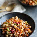Wild Rice and Chickpea Salad