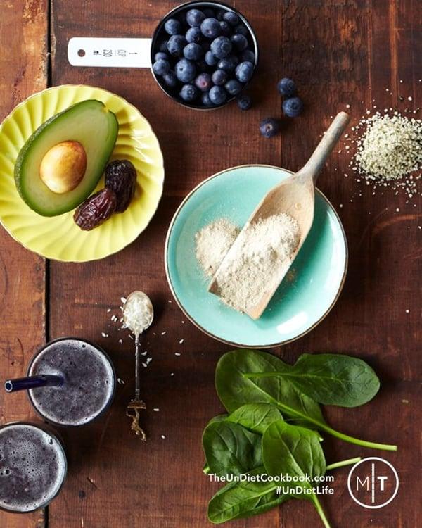 blueberry smoothie telpner