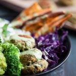 Pistachio Spinach Falafel