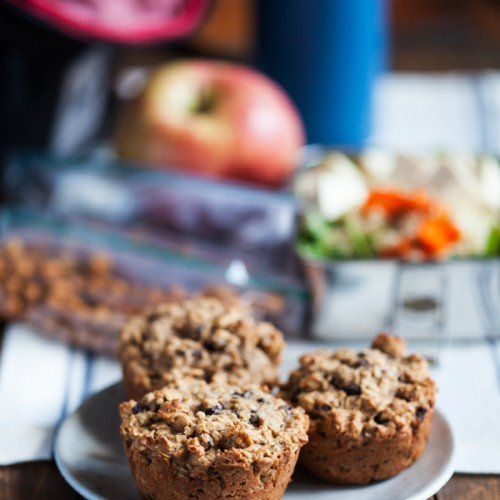 Apple Ginger Oatcakes: A healthy, portable #vegan and #glutenfree breakfast!