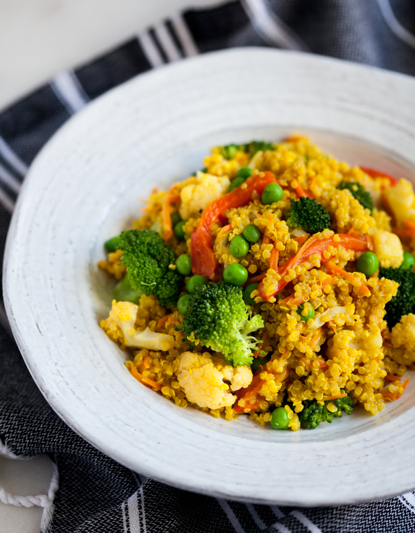 Creamy curried quinoa the full helping creamy curried quinoa forumfinder Image collections