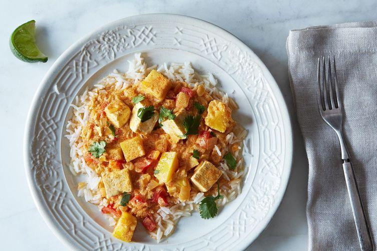 Tofu and kabocha squash curry | The Full Helping