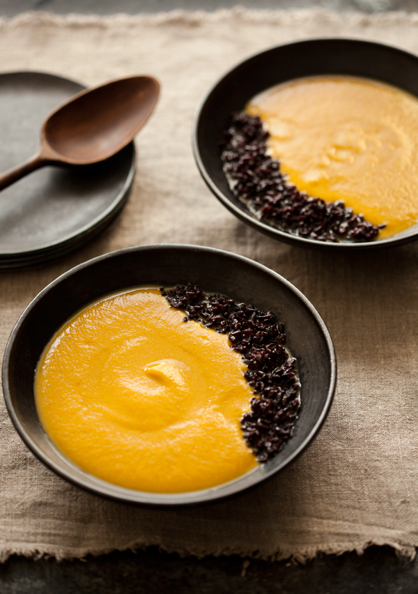 Creamy butternut squash and five-spice soup   The Full Helping