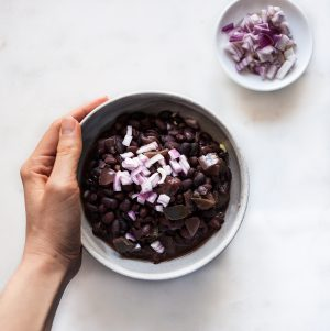 Easy Slow Cooker Cuban Black Beans | The Full Helping