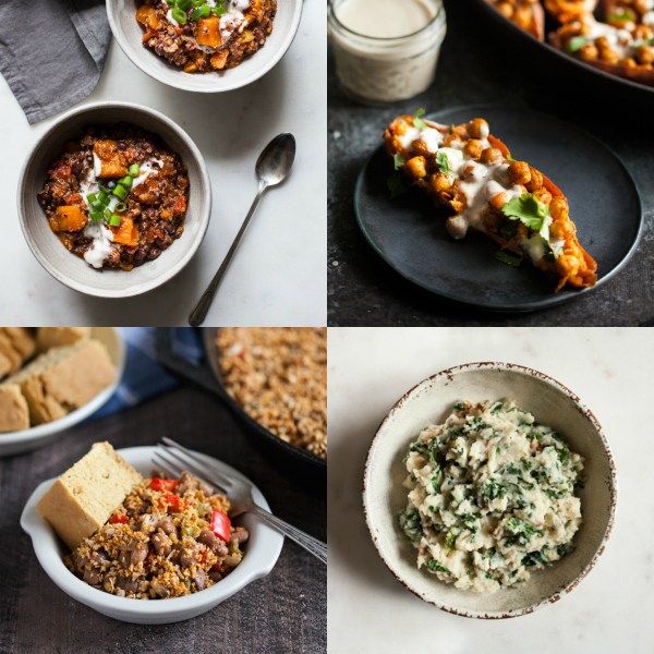 Slow Cooker Vegan Spicy Pinto Bean Chili With Corn And Kale Recipes ...