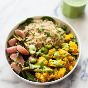 Chickpea Scramble Breakfast Bowls | The Full Helping