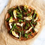 Easy Vegan Tortilla Pizzas