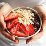 Cocoa Strawberry Quinoa Breakfast Bowls