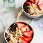 Cocoa Strawberry Quinoa Breakfast Bowls