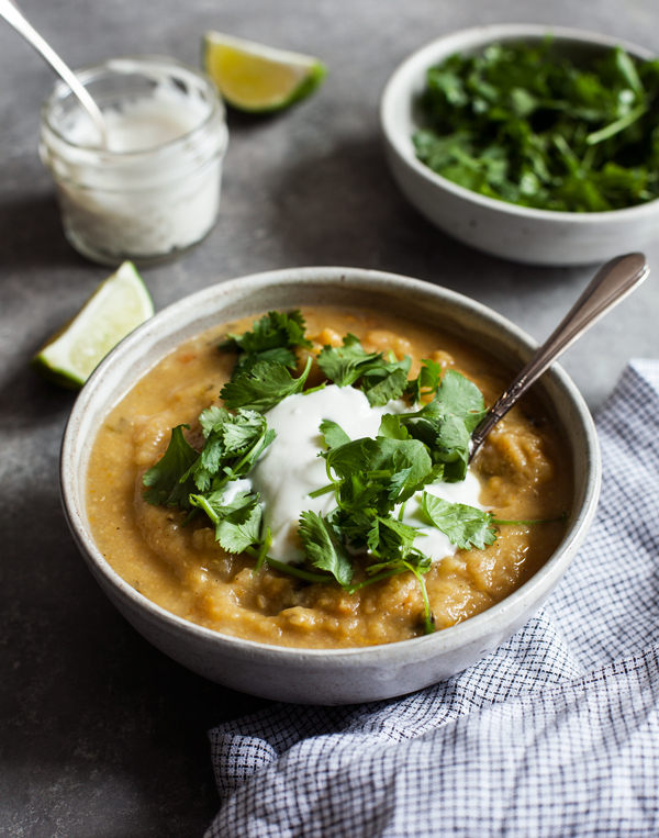 Egyptian Red Lentil Soup   The Full Helping