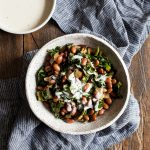 Simple Stewed Pinto Beans and Collard Greens