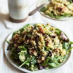 Quinoa BLT Salad with Shiitake Bacon